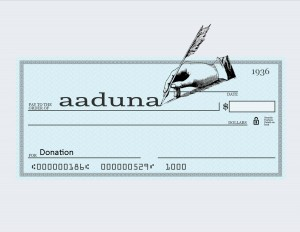 aaduna donation graphic